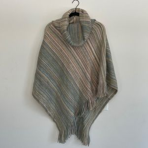 Anthropologie knit sweater poncho NWT